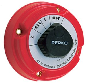 perko marine boat battery switches