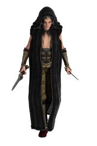 a fantasy rogue character
