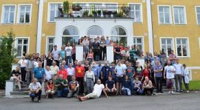 Alla som var med på konferensen på torsdagen.