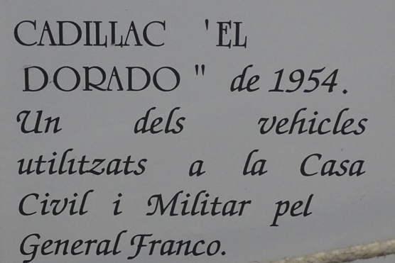 1954 Cadillac 62 Sedan (Ex Général Franco)