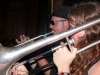 Duelling Horns - Derek Siddon & I