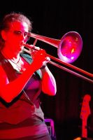 Trombone Kellie at the Nimbin Hotel 3