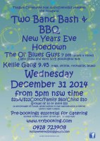 Kellie Gang Poster for New Years Eve 2014