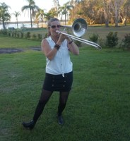 Trombone Kellie at Lake Cabarita 3