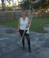 Trombone Kellie at Lake Cabarita 4