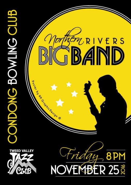 Northern Rivers Big Band at Tweed Jazz Club