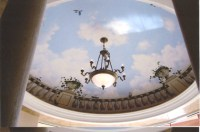 Trompe l'oeil Ceiling Murals...Painted Ceiling Murals by