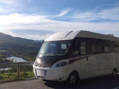 Parkering bobiler og campingvogner NKK Tromsø 2018