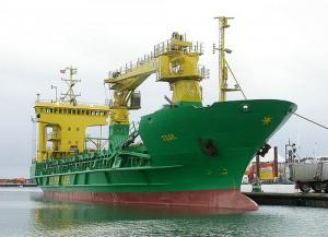 MS Tege er skipet som kanskje skal leggast til kai for godt. Det kan føre til at det blir 6000 fleire trailarar på nordnorske vegar. Foto: John Nuttall/flickr:skagman