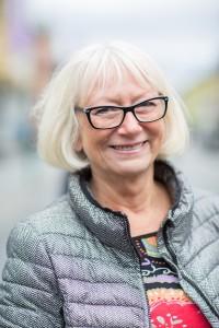 Portrett av Gunhilf Johansen