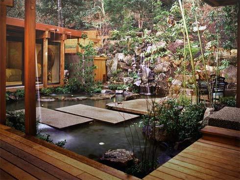 Một không gian sống tiềm ẩn khí chất phương Đông nho nhã, yên bình, tĩnh tâm