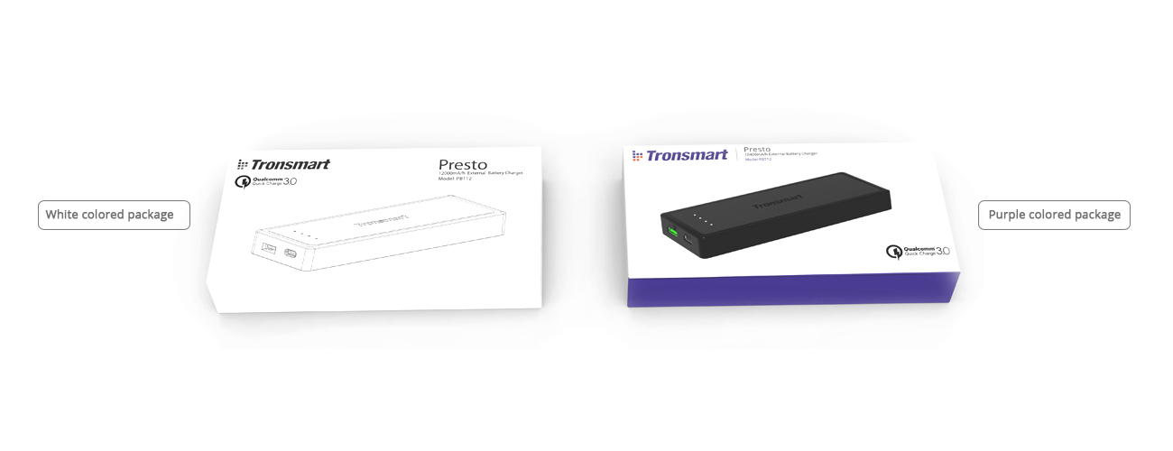 About Changes to Tronsmart Charger Packaging and USB Port