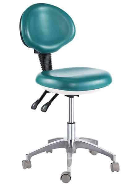 Medical Dental Stools With Ergonomic Back Support