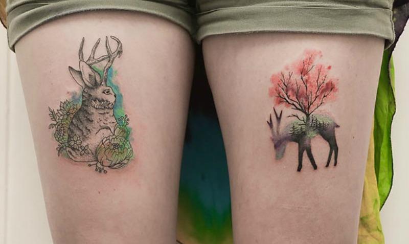 Geniales Tatuajes Unen Geometría Y Belleza De La Natura En Taringa