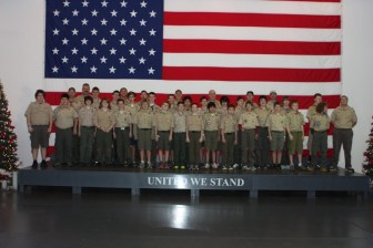 USS Yorktown Dec 2011 Troop Photo