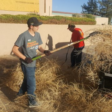 Service Project - Weeds