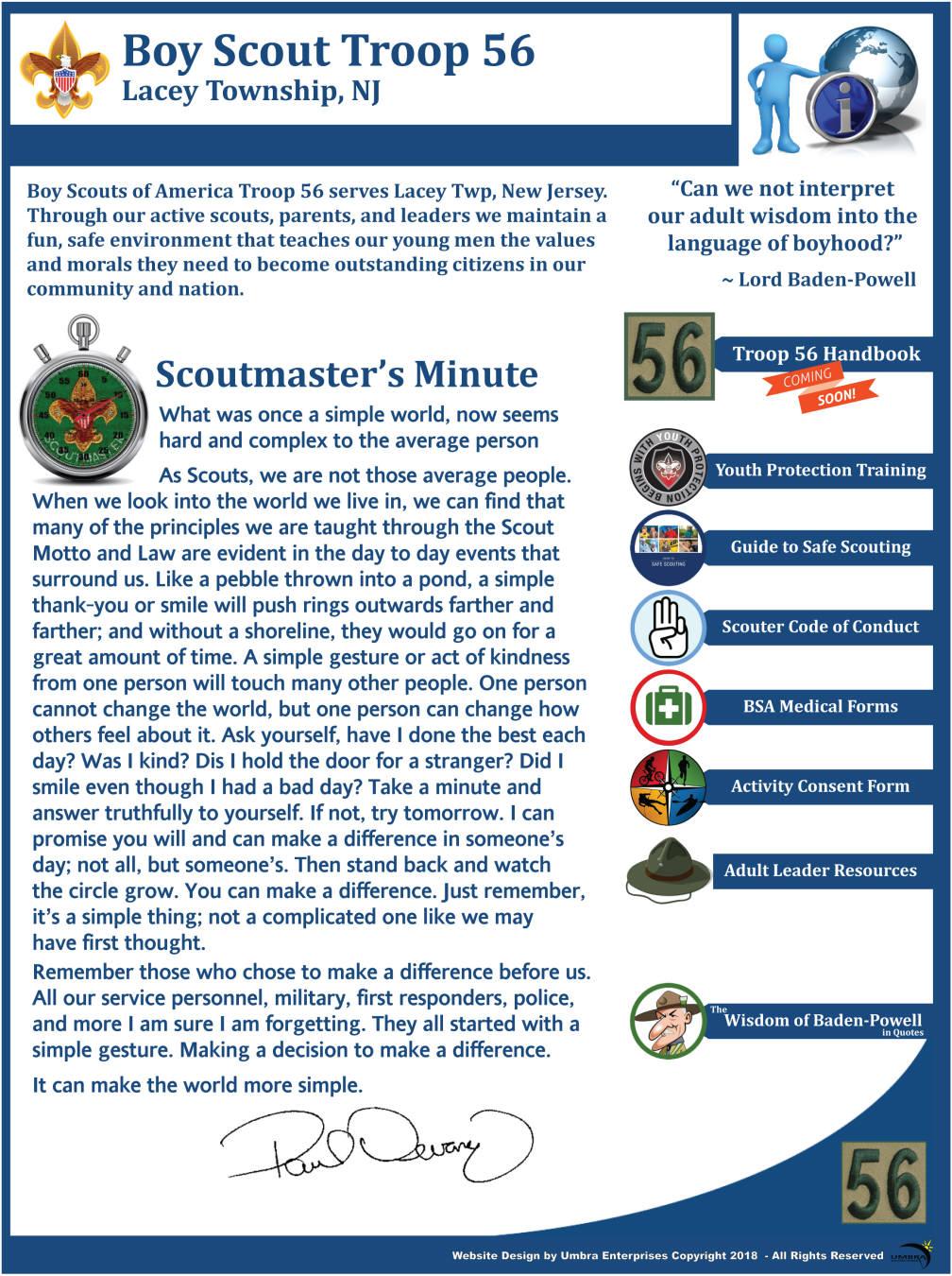 Troop 56-About Troop 56.
