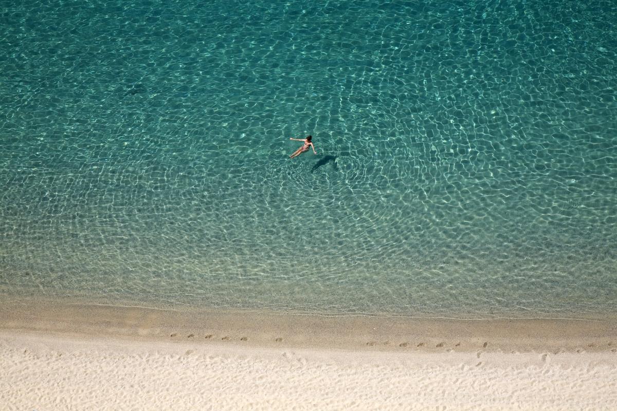 Tropea foto del mare delle spiagge della costa degli Dei in Calabria