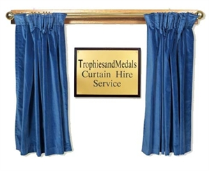 Presentation Curtain Hire Red Ceremonial Curtains Blue Curtains
