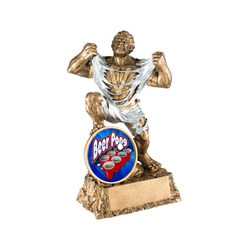beer pong monster trophies