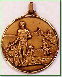 Male Cross Country Medal