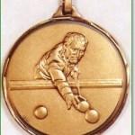 Pool Medal / Snooker Medal 1