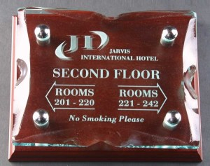 Ice Block Wall Plaques Supplied In A Branded Box. Price Includes Engraving.