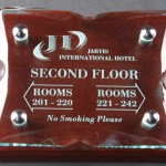 Ice Block Wall Plaques Supplied In A Branded Box. Price Includes Engraving