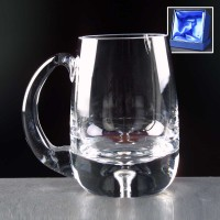 Balmoral Glass Bubble Based Engraved Glass Tankards Supplied In A Satin Lined Presentation Box. Price Includes Engraving.