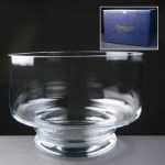 Balmoral Glass Engraved Glass Bowl Supplied In A Blue Cardboard Gift Box. Price Includes Engraving.