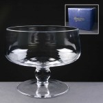 Balmoral Glass Engraved Glass Bowls Supplied In A Blue Cardboard Gift Box. Price Includes Engraving