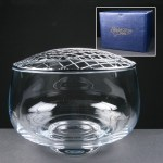 Balmoral Glass Engraved Rose Bowls Supplied In A Blue Cardboard Gift Box. Price Includes Engraving