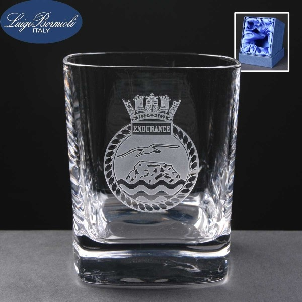 Strauss Whisky Glass In Presentation Box