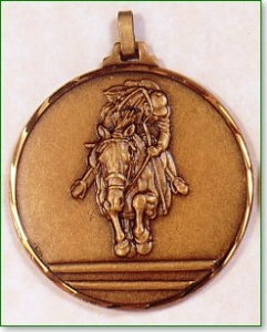 Horse Racing Medal