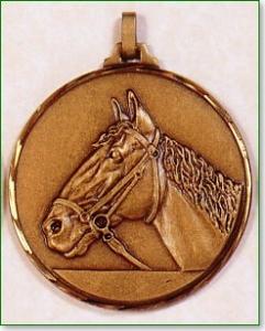 Horse's Head Medal