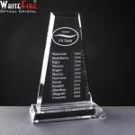 Whitefire Glen Coe Crystal Awards Supplied In A Velvet Lined Presentation Case. Price Includes Engraving.