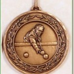 Pool / Snooker Medal - 50mm