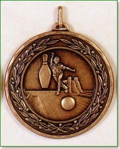 Ten Pin Bowling Medal