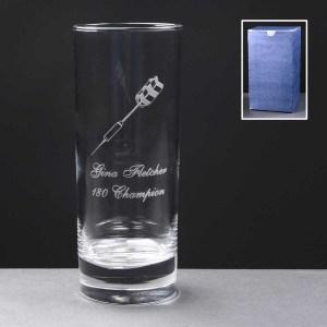 Islande Hiball Glass In Blue Cardboard Box