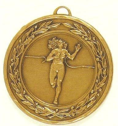 Female Running Medal - 50mm