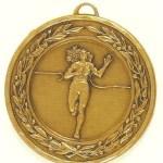 Female Running Medal – 50mm 1
