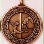 Gymnastics Medal - 50mm