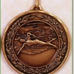 Female Swimming Medal - 50mm