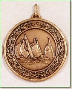 Sailing Medal - 50mm