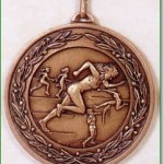 Female Athletics Medal - 50mm