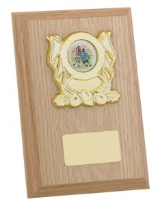 Light Brown Wooden Plaques
