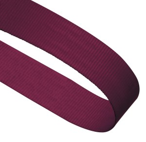 Maroon Woven Medal Ribbons With Clip