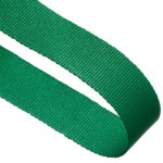 Green Woven Medal Ribbons With Clip