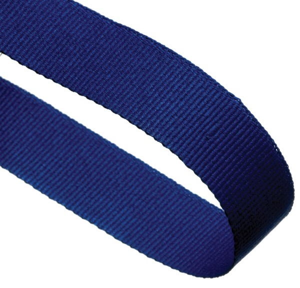 Blue Woven Medal Ribbons With Clip