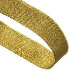 Gold Glitter Woven Medal Ribbons